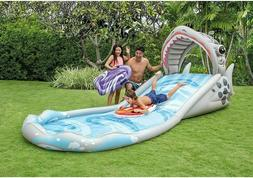 Intex Surf 'N Slide Inflatable Play Center, 181 X 66 X 62