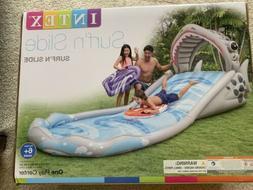 "Intex Surf 'N Slide Inflatable Play Center, 181"" X 66"" X 6"