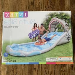 Intex Surf N Slide Inflatable Water Slide Pool Play Center N