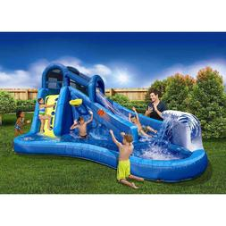 Surf 'N Splash Water Park Water Slides Summer Pool and Backy