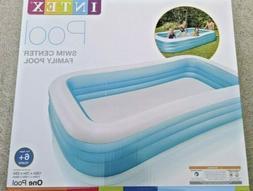 "Intex Swim Center Family Inflatable Pool, 120"" X 72"" X 22"" F"