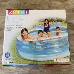 Intex Swim Center Inflatable Family Lounge Pool, 88in X 85in