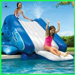 Swimming Pool Water Slide Intex Kool Splash Inflatable Play