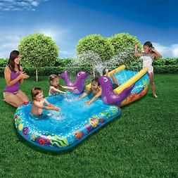 Banzai Kid Toddler Outdoor Inflatable My First Water Slide a