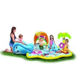 Banzai Toddler/Kids Inflatable Splish Splash WaterPARK , W