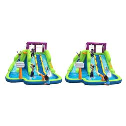 triple blast inflatable splash pool