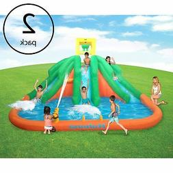 Kahuna Triple Monster Big Inflatable Backyard Kiddie Slide W