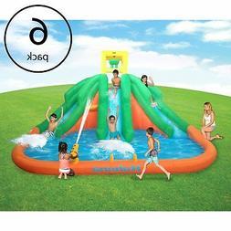 Kahuna Triple Monster Big Inflatable Backyard Kiddie Slide W