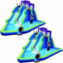 twin falls outdoor inflatable splash backyard water