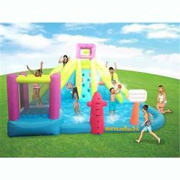Kahuna Twin Peaks Outdoor Inflatable Kiddie Water Park Pool