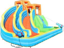 Sportspower Twin Peaks Splash And Slide With Water Cannons A