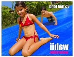 wahii water slide 75ft kids love it