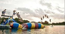 water bounce inflatable water game water trampoline