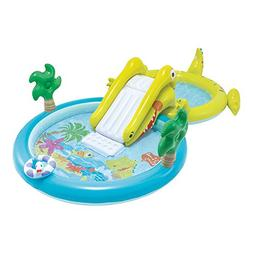 Intex–Water Games Centre with Slide–Two Swimming