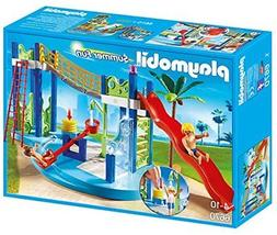 Water Park Play Area Playset Kids Pretend Roleplay Slides wi