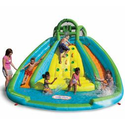 Water Pool Slide Flume Swimming Inflatable  Backyard Watersl