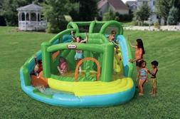 water slide bouncer inflatable wet dry pool