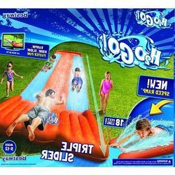Water Slide inflatable kids outdoor racer backyard splash be