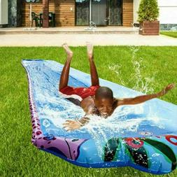 Water Slide, Slip and Slide with Inflatable Ramp for Kids Ad