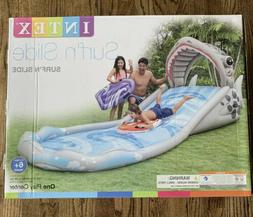 """Intex Water Surf 'N Slide Inflatable Play Center 181"""" x 66"""""""