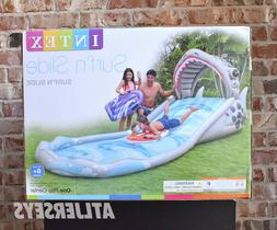 "✅ Intex Water Surf 'N Slide Inflatable Play Center 181"" x"