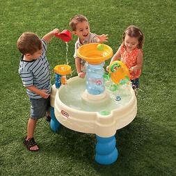 Water Table Play Outdoor Activity Kids Little Tikes Spiralin