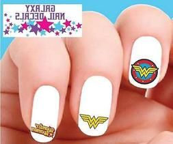 Waterslide Nail Decals - Wonder Woman Assorted