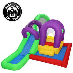 Cloud 9 Wet 'n' Slide Bounce House - Inflatable Combo with W