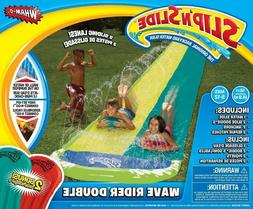 Wham-o 64120 Slip N Slide Wave Rider Double With 2 Slide Boo