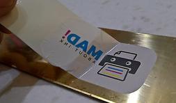 White Waterslide Decal Transfer Paper for Inkjet Printers 20
