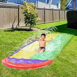ZHIHAN Water Slide Inflatable For Kids And Adults, Garden Ba
